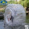 2012 HOT inflatable transparent tpu water roller