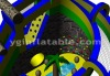 2012 Inflatable obastcle slide