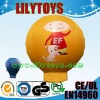 2012 NEW inflatable ground cartoon balloon/advertising balloon/ sales balloon in nylon coat PVC