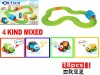 2012 New item 18pcs battery operated railway toy