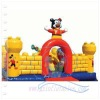 2012 {Qi Ling} Giant Mickey inflatable bouncy
