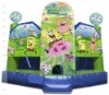 2012 {Qi Ling} spongebob inflatable bouncy