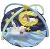 2012 cute sleeping lamb patchwork baby play gym mat