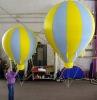 2012 inflatable advertising ground balloon/tarpaulin ground balloon