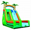 2012 inflatable slide with 2 lane slider