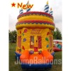 2012 new birthday cake inflatable bouncer