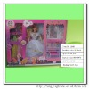 2012 new plastic fashion doll set for baby