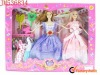 2012 new promotional 2pcs fashion doll bobby toy with clothes