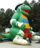 2012 ourdoor use advertising inflatable skating dinosaur