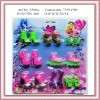 2012 plastic fashion high heel doll shoes for children (toy accessories)