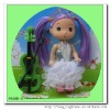 2012 plastic nice confused doll with guitar for girl