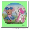 2012 plastic small toy dolls for girl