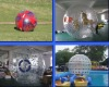 2012 zorbing balls for land and water