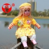 24 inch factory price music real baby doll,yiwu tian shu toys