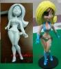 24cm plastic anime figure toy