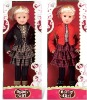 26 inch plastic fashion baby doll with wink