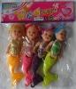 "3.5"" mermaid doll"