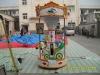 3 seats kiddie rides carousel