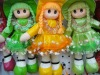 30cm stylish colorful pu material babay dolls