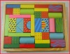 38 beautiful wood village building or construction blocks toy