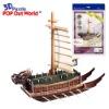 3D Puzzle SHIP Turtle Ship