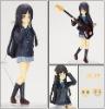 3D guitar girl plastic figures