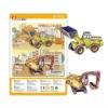 3D puzzle toys wheel loader