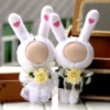 3d effect photo face doll for wedding