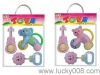 3pcs Baby Toy Ring The Bell