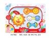 3pcs plastic baby rattles toy H47860