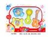 3pcs plastic baby rattles toy H47861