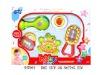 3pcs plastic baby rattles toy H47864
