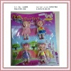 4 beautiful baby angel doll for girls(plastic toy doll)