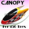 450 Helicopter Canopy No.011 Glass Fiber Canopy