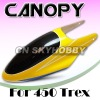 450 Helicopter Canopy No.013 Glass Fiber Canopy