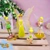 4pcs Peter Pan Tinker Bell Angel Set Figure