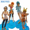 4x Hot Anime One Piece Nami Collection Figure Brand New