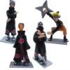4x NARUTO Konan Kakuzu Tobi Figure Set Brand New
