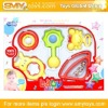 5pcs lovely baby rattle