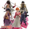 5x Samurai X Rurouni Kenshin OFFICIAL Figures set