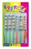 6 pack chinese yo yo,plastic stick,toy