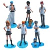 6x Bleach Abarai Renji Rangiku Figure Set New In Box