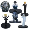 6x Death Note L Lawliet Misa PVC Figure Set