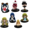 7x CLAMP Chobits Chii PVC Figure Set