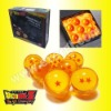 7x JP Anime DragonBall Z Stars Crystal Ball Set