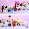8 x Toy Story Woody Buzz Green Man Mini Figure