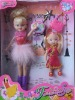 """9"""" bendable doll, 3.5""""kelly doll"""