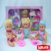 9 inch dress up doll toy set