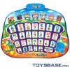 ABC learning electronic musical play mat