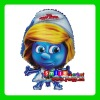 AH-8087 Factory Outlets MIX styles wholesale CHEAP lovelty The Smurfs foil balloons mylar cartoon balloon